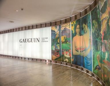 Madrud, Thyssen-Bornemisza Museum, Gauguin exhibition.