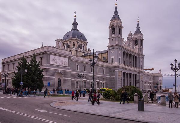 Madrid, Almudena Cathedral.
