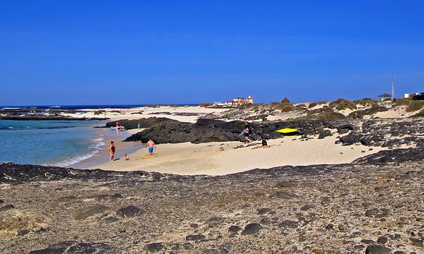Fuerteventura, El Cotillo, beach near El Cotillo.