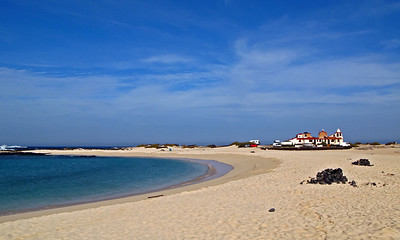 Fuerteventura, El Cotillo, morning time at the beach, near El Cotillo.