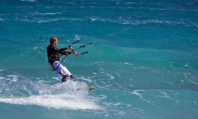 Fuerteventura, De Corralejo, kit Surfers at Dunas de Corralejo.