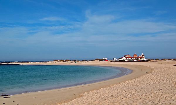 Fuerteventura, El Cotillo, morning time at the beach, near El Cotillo