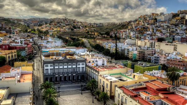 Las Palmas, Gran Canaria, Las Casas Consistoriales, Plaza Santa Ana