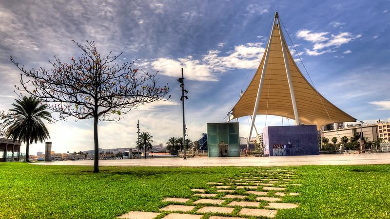 Las Palmas, Gran Canaria, Santa Catalina Park Bus Station.
