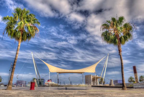 Las Palmas, Gran Canaria, Catalina Park Bus Station.