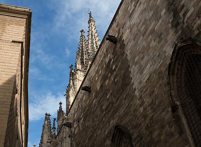 Barcelona, Barri Gotic,Barcelona Catedral.