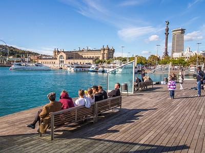 Barcelona, Port Vell.