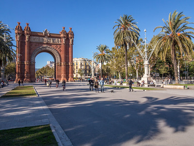 Barcelona, Parc de Ciutadella Arc de Trioph.