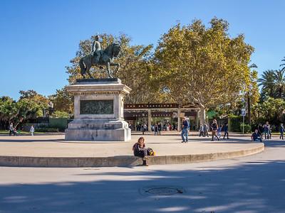 Barcelona, Parc de Ciutadella.