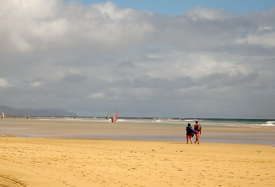 Fuerteventura, south of Costa Calma.
