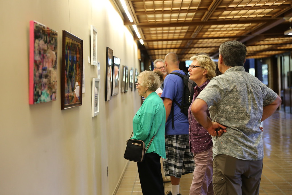 . SARAH DOWLING - DAILY DEMOCRAT The First Friday Art Walk was a popular event in Woodland throughout 2017.