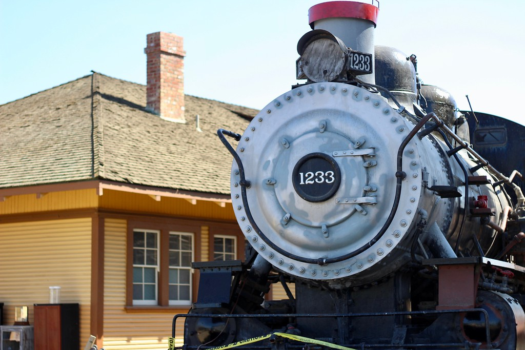 . HANS PETER - DAILY DEMOCRAT The Historic Woodland Train Depot saw many improvements in 2017 including new concrete and fencing for events.