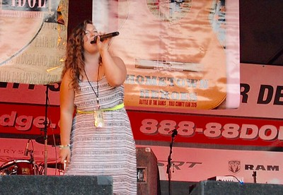 JENICE TUPOLO - DAILY DEMOCRAT Carly Rhodes won Yolo Idol after two powerhouse performances.