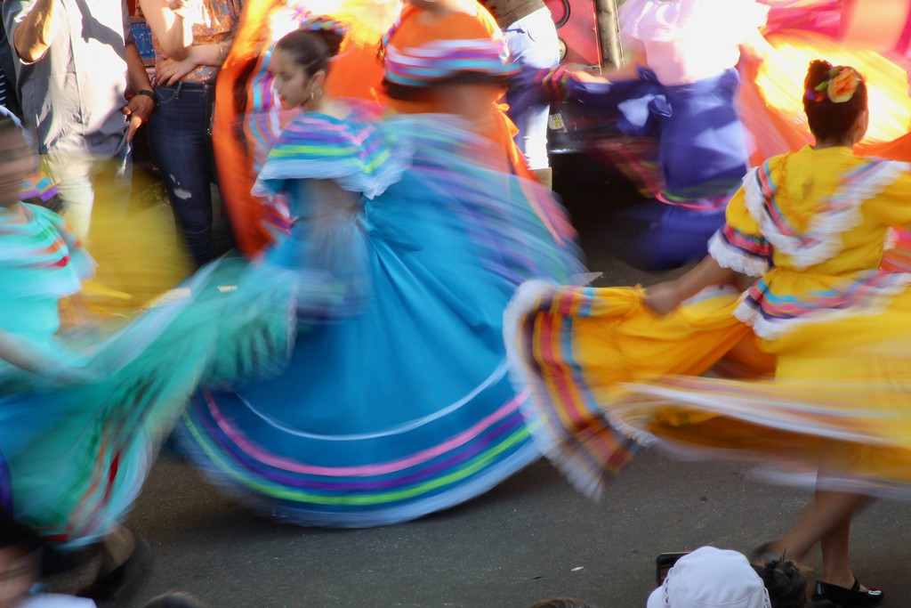 . HANS PETER - DAILY DEMOCRAT Freeman Ballet Folklorico Dancers celebrated on behalf of Cesar Chavez celebration in early April.