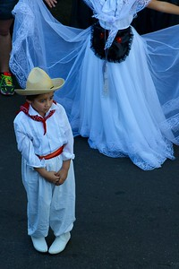HANS PETER - DAILY DEMOCRAT Children dressed in traditional Mexican garb to celebrate the legacy of Cesar Chavez.
