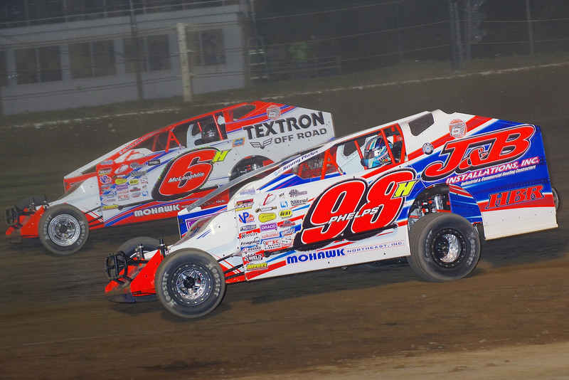 "Mod action Jimmy Phelps #98 & Max McLaughlin #6 courtesy Kustom Keepsakes, Mark Brown/Ryan Karabin. For reprints vist: <a href=""https://nepart.smugmug.com"">https://nepart.smugmug.com</a>"