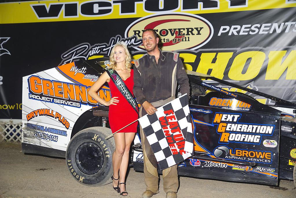 . Sportsman winner Jeremy Pitts w/Ms Motorports courtesy Kustom Keepsakes, Mark Brown/Ryan Karabin. For reprints vist: https://nepart.smugmug.com