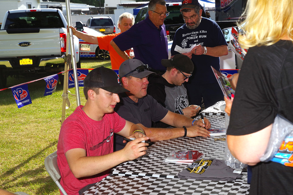 . Autograph session Max McLaughlin, Jimmy Phelps & Keith Flach courtesy Kustom Keepsakes, Mark Brown/Ryan Karabin. For reprints vist: https://nepart.smugmug.com