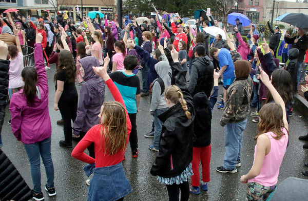 PHOTOS: Billion Rising Dance Against Violence and Injustice