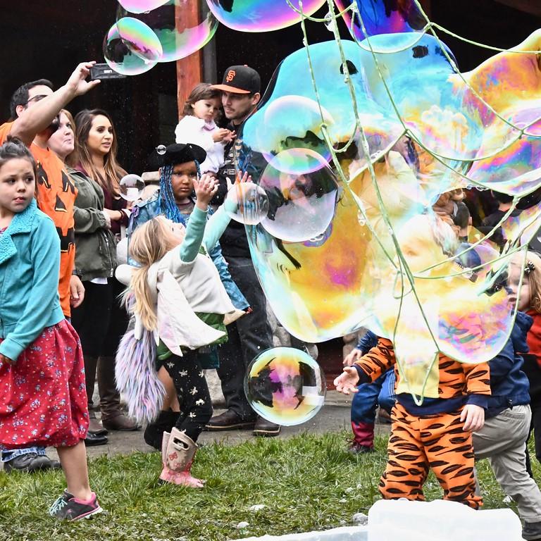 . Praising some bubbles! José Quezada�For Times-Standard