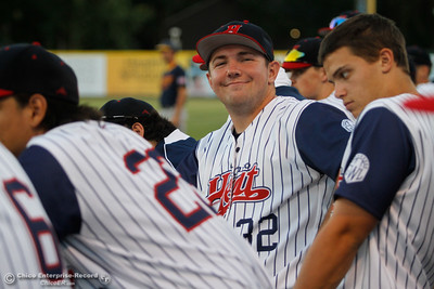 Chico Heat's Keaton Kringlen during a baseball game between the Chico Heat and the Marysville Gold Soxs June 23, 2016 in Chico, Calif. (Emily Bertolino -- Enterprise - Record)