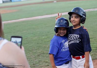 Chico Heat baseball takes on the Lodi Crushers in the regular-season home finale August 8, 2016 at Nettleton Stadium in Chico, Calif. (Emily Bertolino -- Enterprise-Record)