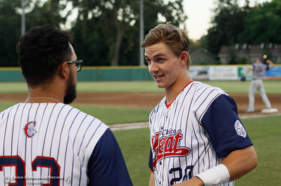 Chico Heat baseball takes on the Lodi Crushers in the regular-season home finale August 8, 2016 at Nettleton Stadium in Chico, Calif. (Emily Bertolino -- Enterprise-Record)