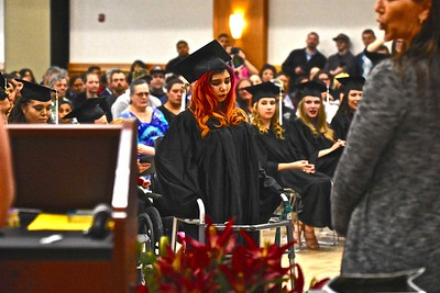 Jose Quezada — For Times-Standard  The Community Schools of the Humboldt County Office of Education held their graduation Wednesday evening at the office's Sequoia Conference Center in Eureka. Graduates from the Eel River Community School, Eureka Community School, Garberville Community School, New Horizons High School and Von Humboldt High School received their diplomas.