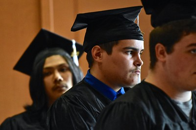 Future looking bright for 2017 graduates. (José Quezada—For the Times-Standard)
