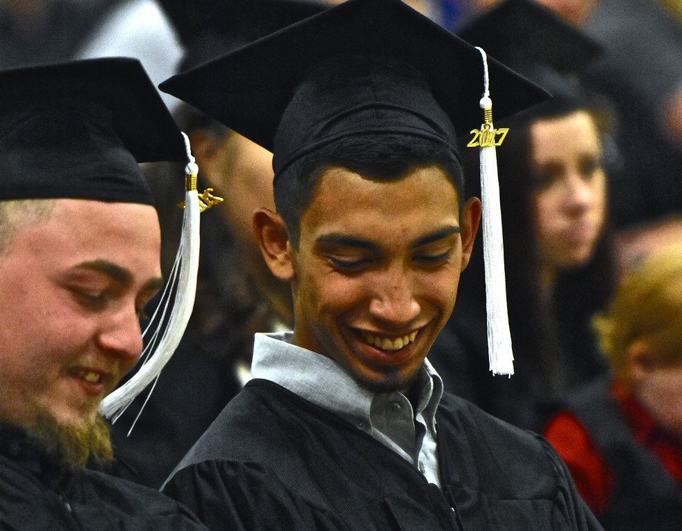 . Smiling Class of 2017.  (José Quezada�For the Times-Standard)