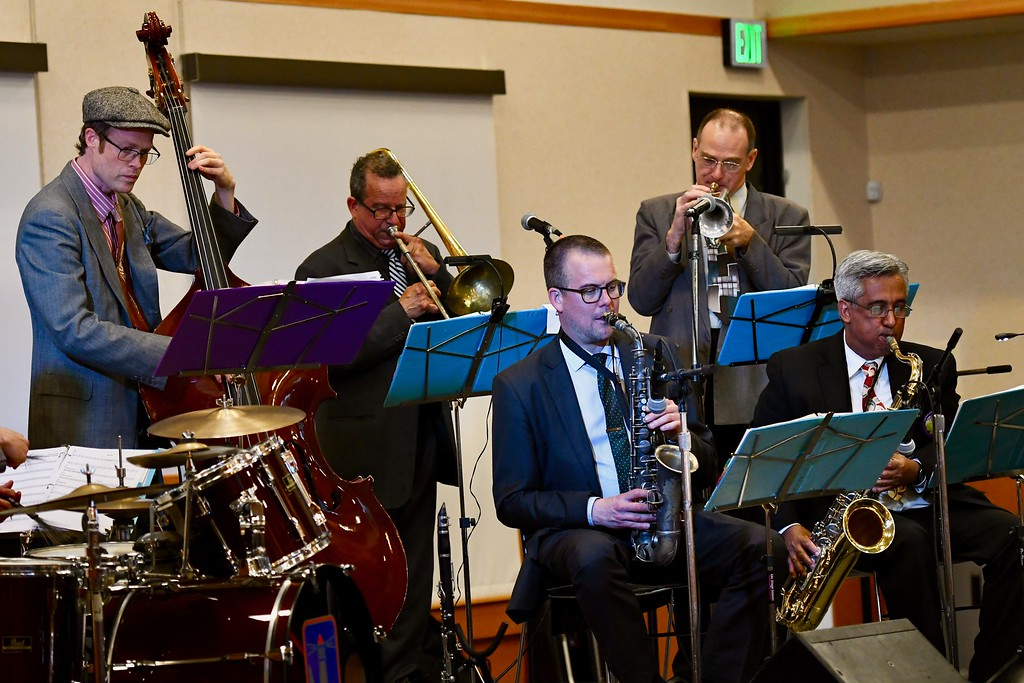 . The Candy Jacket Jazz Band. José Quezada�For the Times-Standard