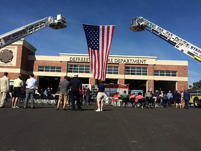 PHOTOS: DeFreestville Fire Department's new station