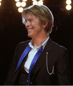 JANUARY 10: David Bowie, musician