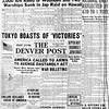 The Denver Post, Monday, December 8, 1941. War Declared On Japan. The Denver post Library Archive