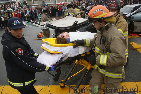 PHOTOS: Every 15 Minutes DUI accident simulation at Arcata High