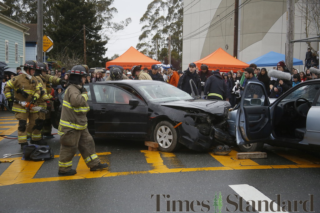 PHOTOS: Every 15 Minutes DUI accident simulation at Arcata High ...