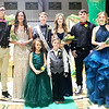 SUBMITTED PHOTO |<br /> The 2020 Stuart Homecoming Queen and King was announced Friday. Elected Homecoming Queen was Shelby Howell and Homecoming King Zack Clark. Pictured front row Shakira Freeman and Rylan Weiher. Back row, Jared McIntosh, Rylee Underwood, Zack Clark, Shelby Howell, Sammy Luker and Sydney Howell.