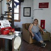 A look inside the Fairport Harbor West Breakwater Lighthouse at an open house June 10 in honor of its 92nd birthday. Owner Sheila Consaul has been renovating the interior for a summer home since purchasing it in 2011. (Betsy Scott/ The News-Herald)