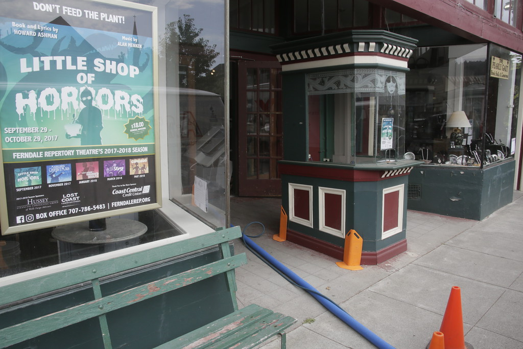. Shaun Walker � The Times-Standard  The theater\'s new season opens on Sept. 29 with �Little Shop of Horrors.�