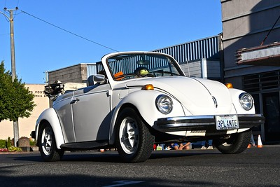 A 1979 Super VW Beetle convertible hits the pavement in fashion. José Quezada — For the Times-Standard