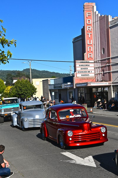 Trucks, cars, buggies and more were part of the cruise for the Fortuna AutoXpo kickoff. José Quezada — For the Times-Standard