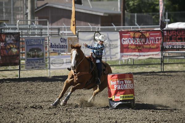 PHOTOS: Fortuna Junior Rodeo 2017 junior junior barrel racing