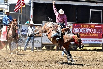 Al Bugenig of Ferndale shows championship rodeo form. José Quezada—For the Times-Standard