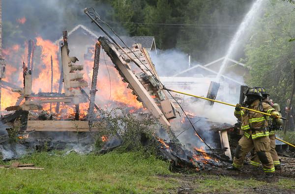 PHOTOS: Fortuna firefighter training burn