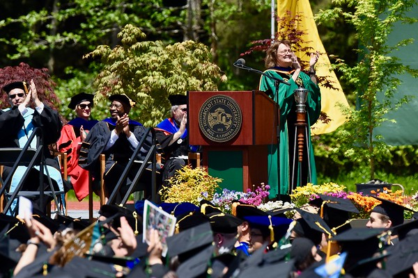 PHOTOS: Graduation 2018 Humboldt State University