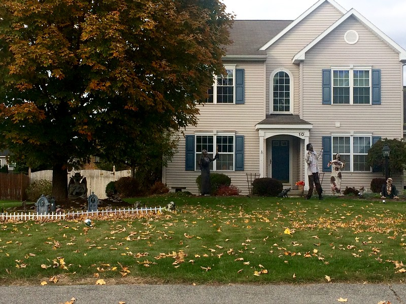 A home on Redfield Park, in Clifton Park.