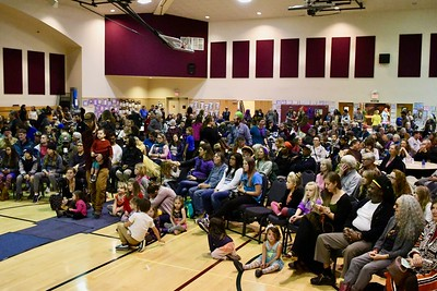 The Arcata Community Center was packed for the annual Bowl of Beans Martin Luther King, Jr. event. José Quezada—For Times-Standard