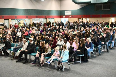 A near capacity-crowd filled the Adorni Center in Eureka Monday for Dr. Martin Luther King, Jr. celebration. José Quezada—For Times-Standard