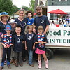 Richard Payerchin - The Morning Journal <br> Members of the Schedler-Umberger family pose for a family portrait after the parade of the annual Linwood Park 4th of July Parade, held on July 4, 2016, in Vermilion. Hundreds of people came out for the patriotic celebration of the nation's birthday. Pictured are, in the front row, Enoch Umberger, 6; Myles Umberger, 5; and twin sisters Abigail and Esther Umberger, 7. In the back row are family matriarch Jean Schedler, grandmother of the children; and Elijah Umberger, 9; Kathryn Umberger, who is the daughter of Schedler; Abram Umberger, 3; and Bob Umberger.