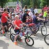 Richard Payerchin - The Morning Journal <br> Numerous children get ready to ride in the annual Linwood Park 4th of July Parade, held the morning of July 4, 2016. Hundreds of people staying at Linwood Park and from neighboring communities came out for the parade, which organizers said gets bigger every year.